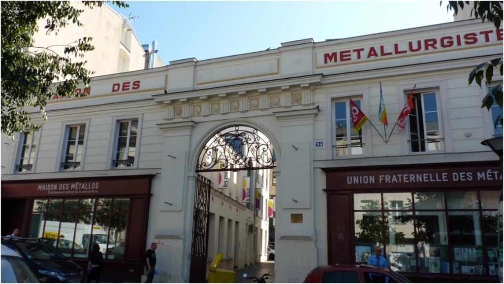 La Maison Des Metallos