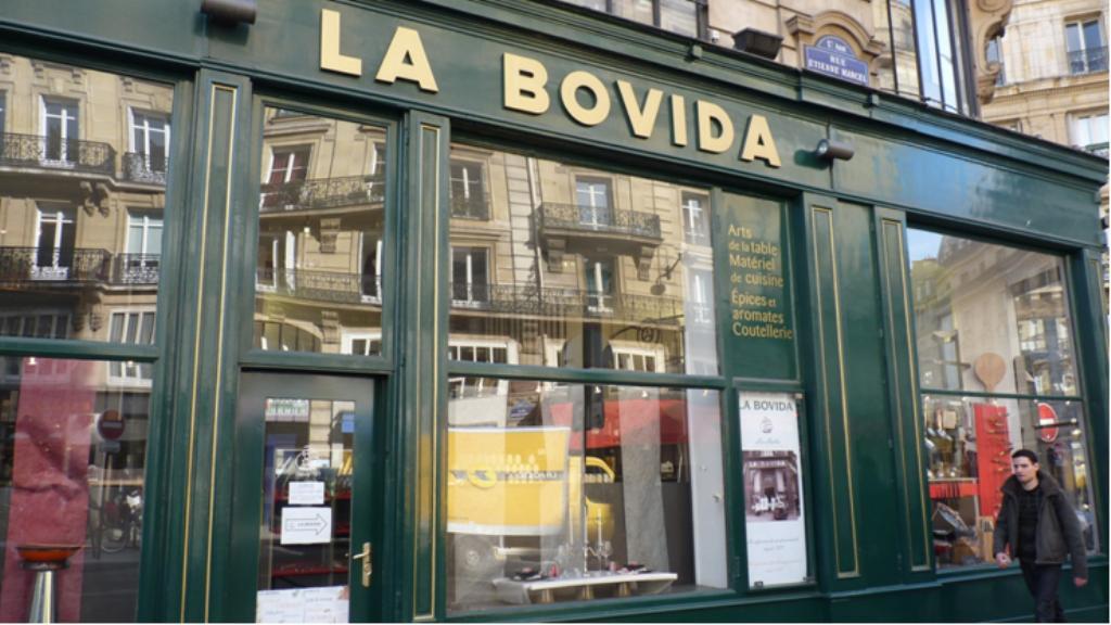 La bovida magasin les halles paris