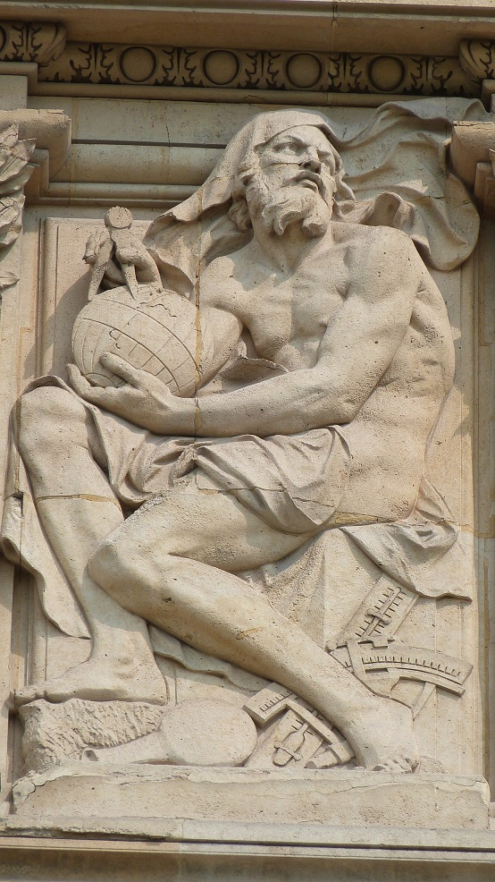 Le bas-relief Les Sciences