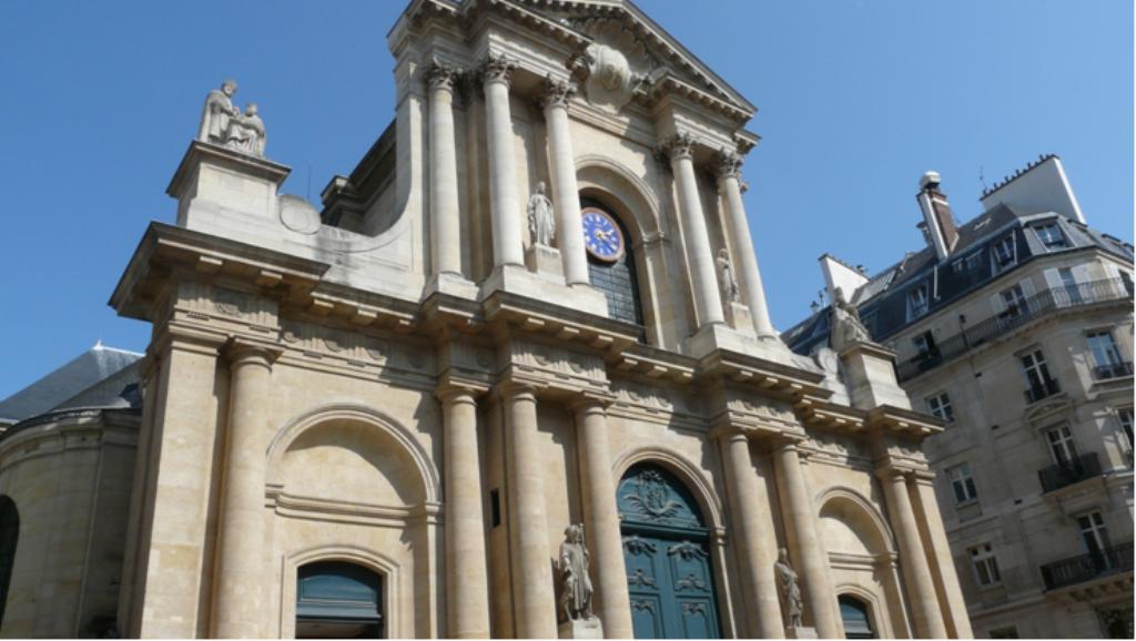 Eglise saint roch for Architecture grec
