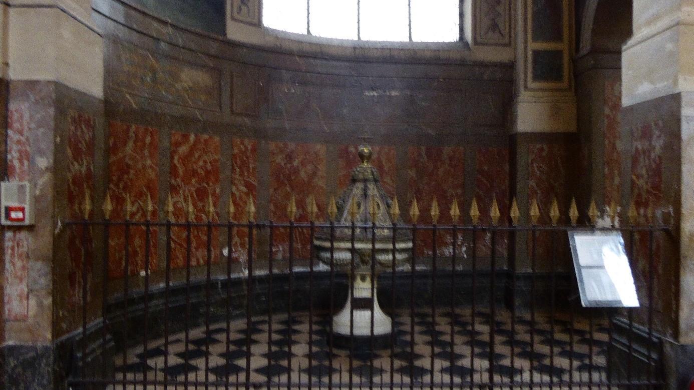 l 39 eglise saint roch la chapelle des fonts baptismaux. Black Bedroom Furniture Sets. Home Design Ideas