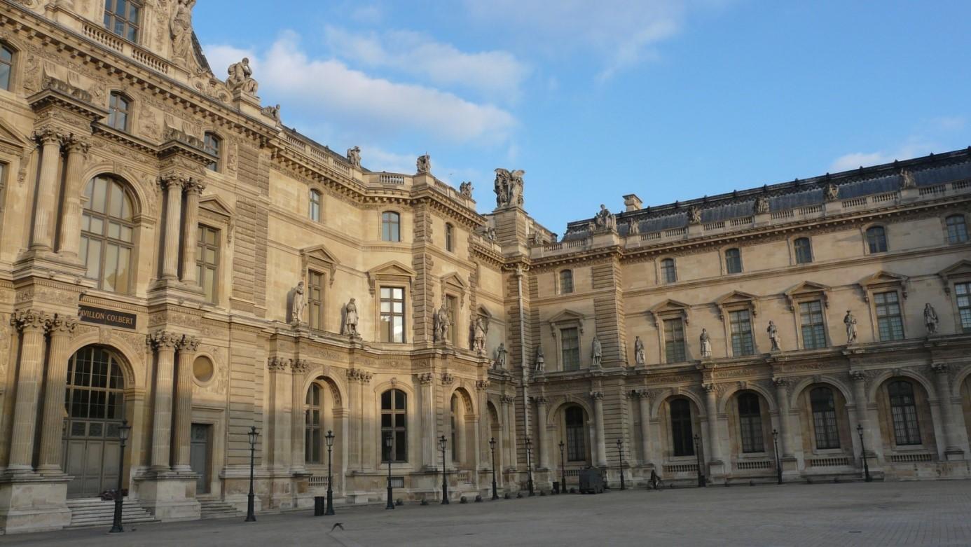 Les curieux tableaux du Louvre