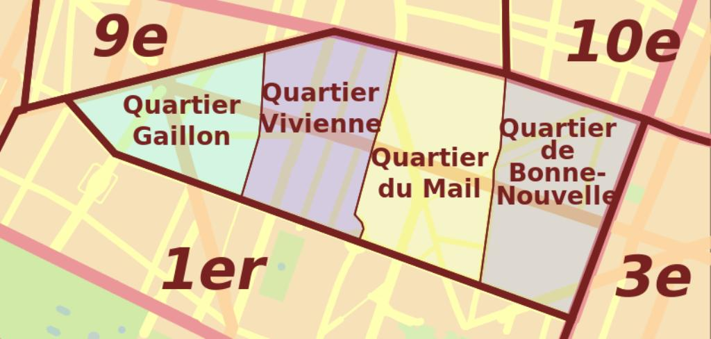 Le quartier Gaillon