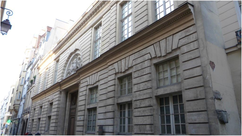 Les h tels du marais 3 me for Jardin lazare rachline rue payenne paris 3eme