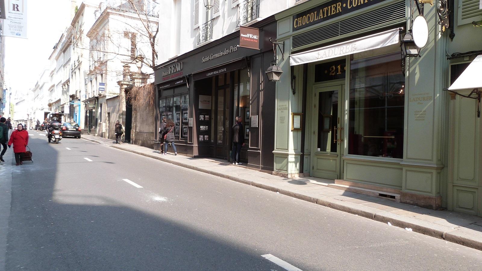 Rues - Rue bonaparte paris 6 ...