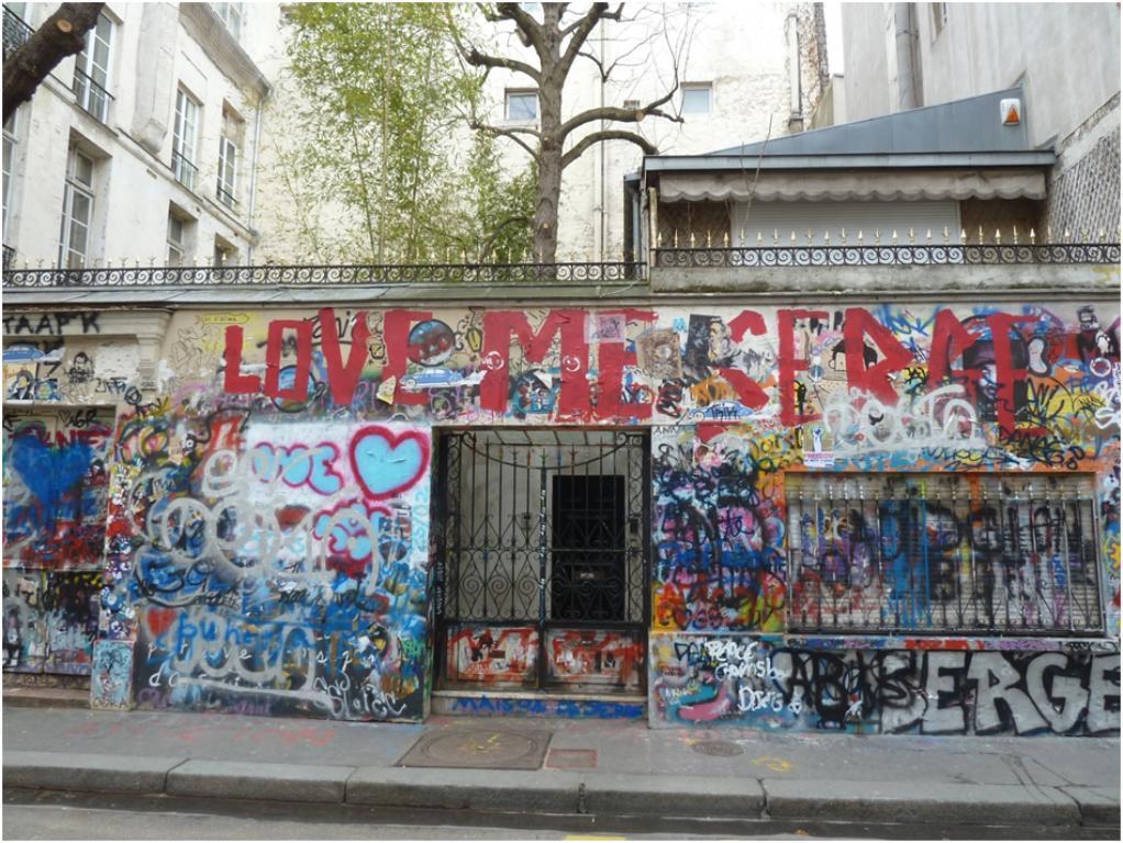 Merveilleux La Maison Des Bibliotheques #2: Paris_7_maison_serge_gainsbourg.jpg