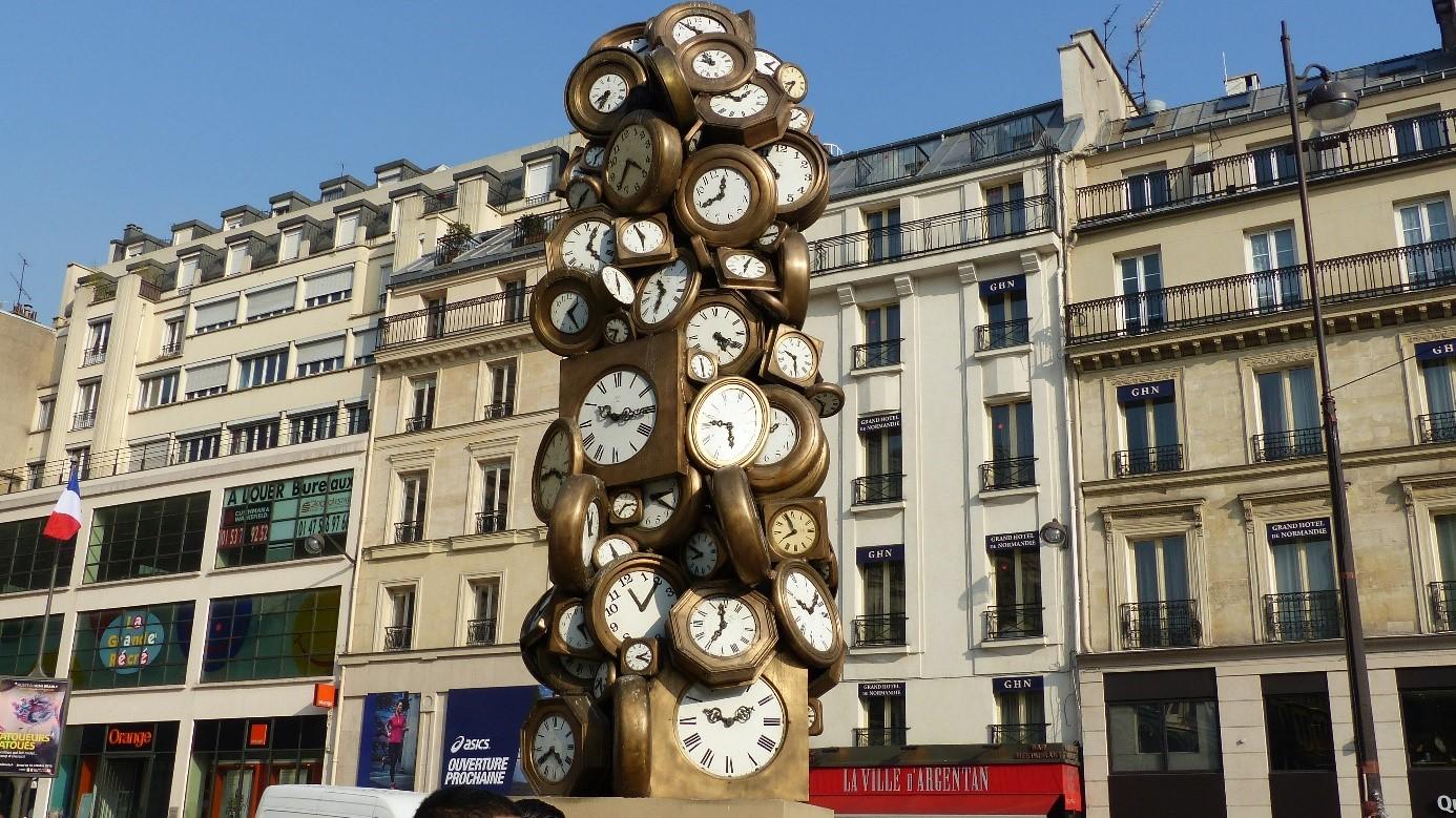 Les horloges de Saint-Lazare