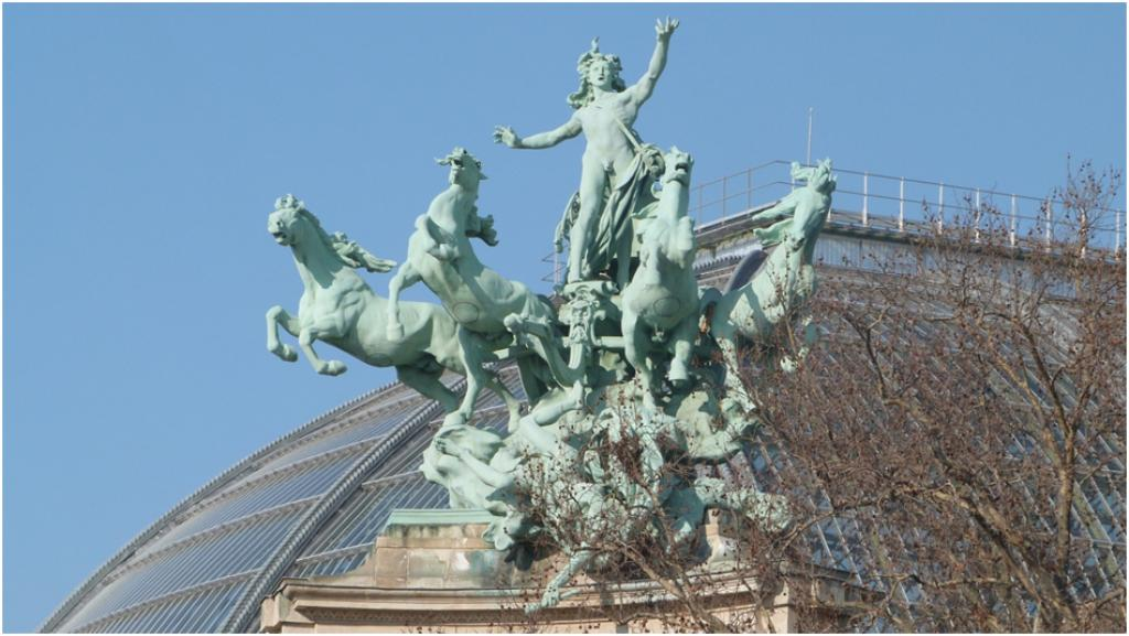 Les sculptures du Grand Palais