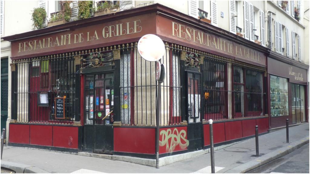 Le restaurant la grille - Restaurant la grille paris 10 ...