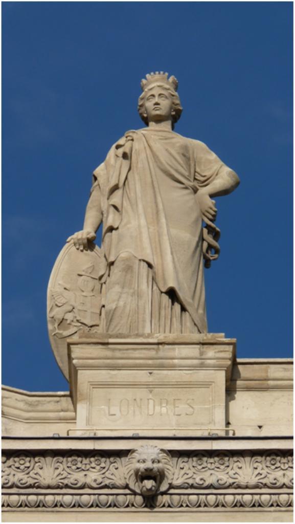 Les statues de la Gare du Nord