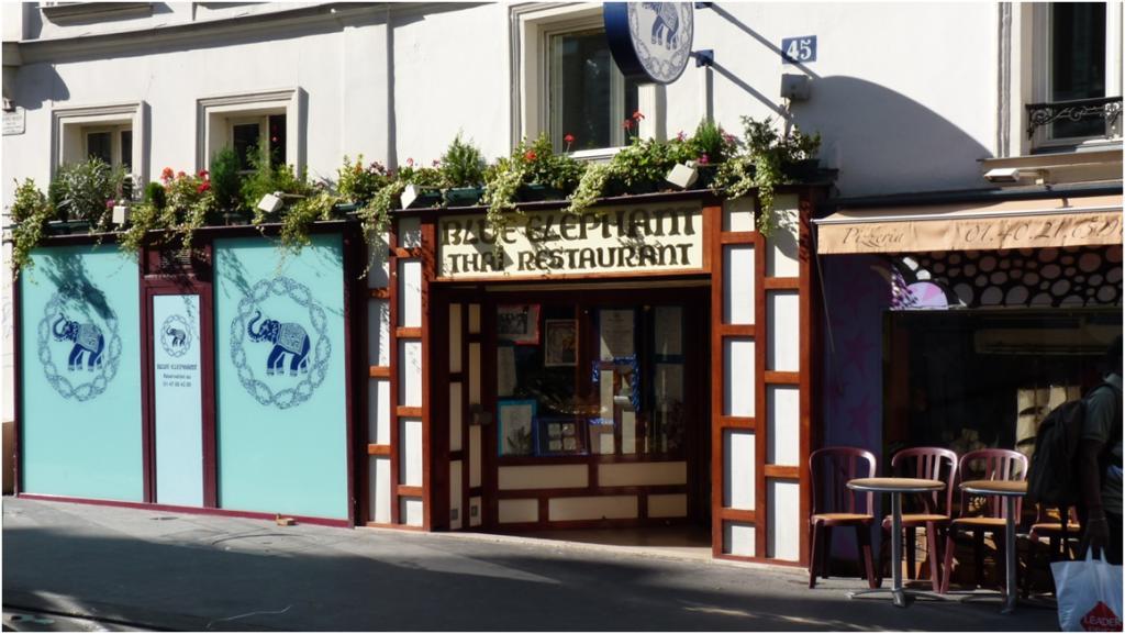 Le restaurant l 39 el phant bleu - Cuisine thailandaise paris ...