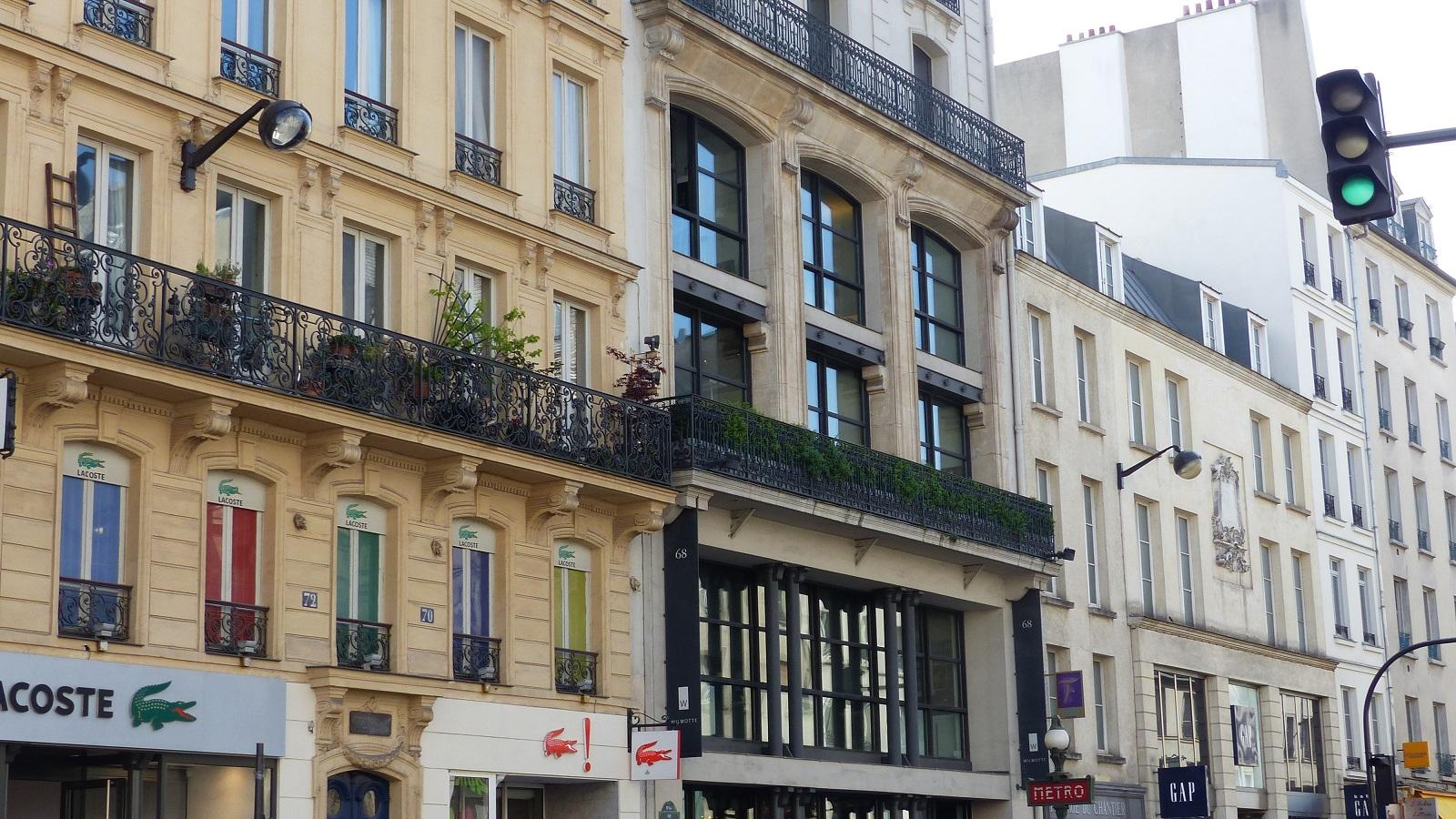La rue du faubourg saint antoine - Meubles faubourg saint antoine ...