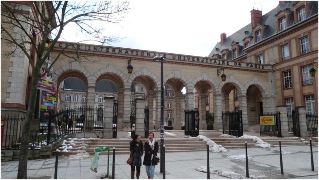 La cit universitaire - Arrondissement porte d orleans ...