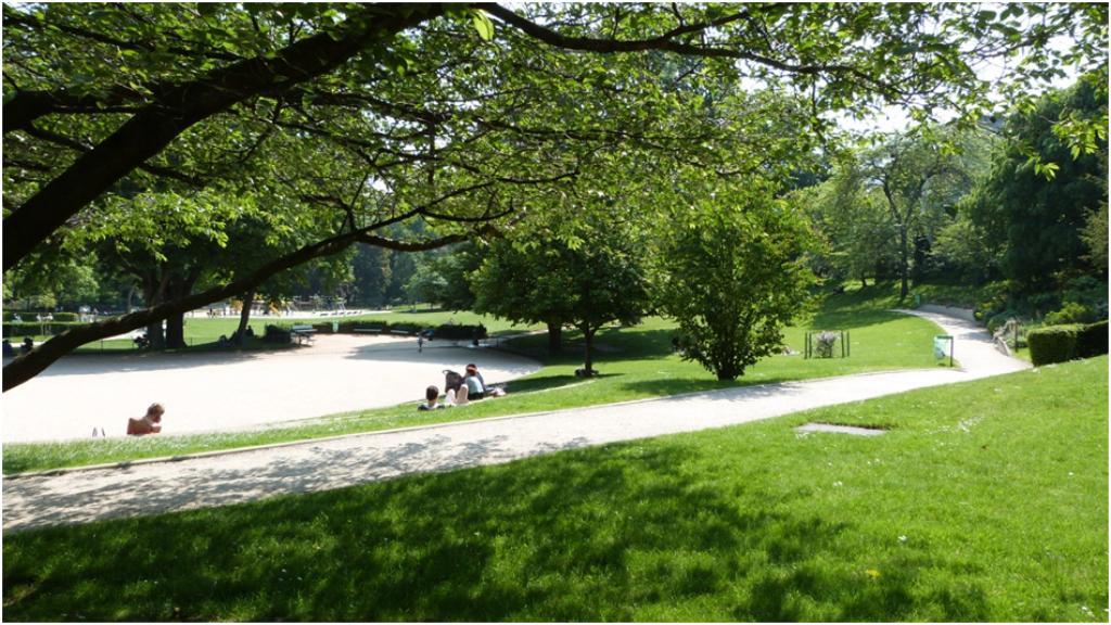 Le jardin anne frank for Jardins et espaces verts