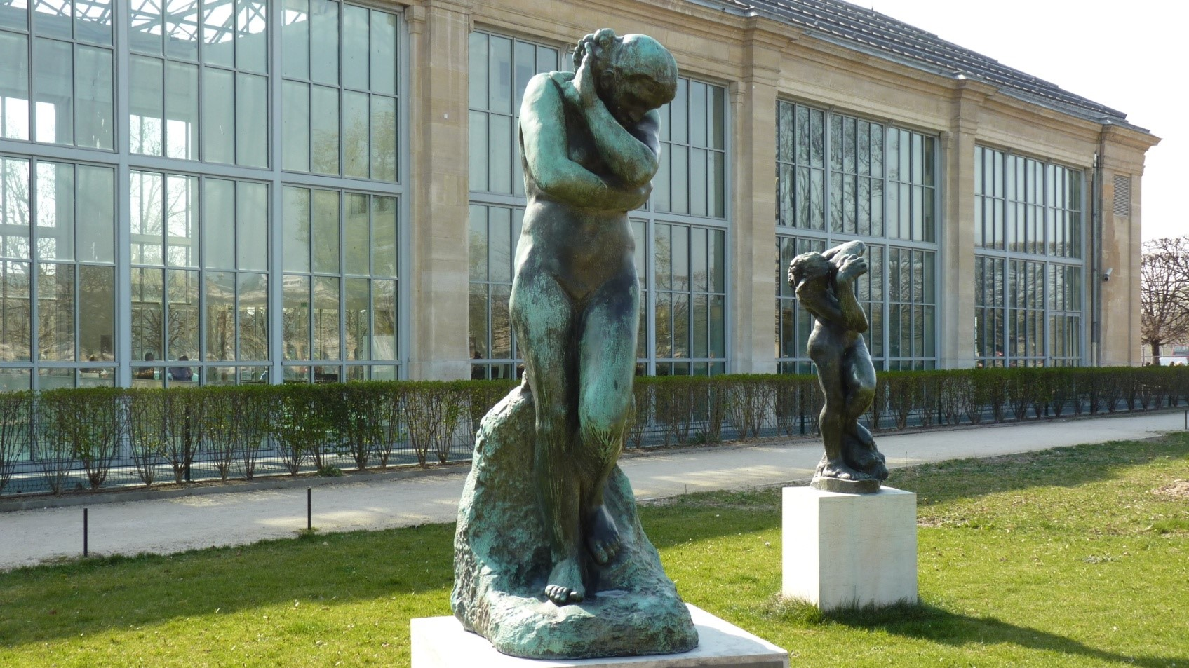 """Résultat de recherche d'images pour """"STATUE """"EVE"""" tuileries"""""""