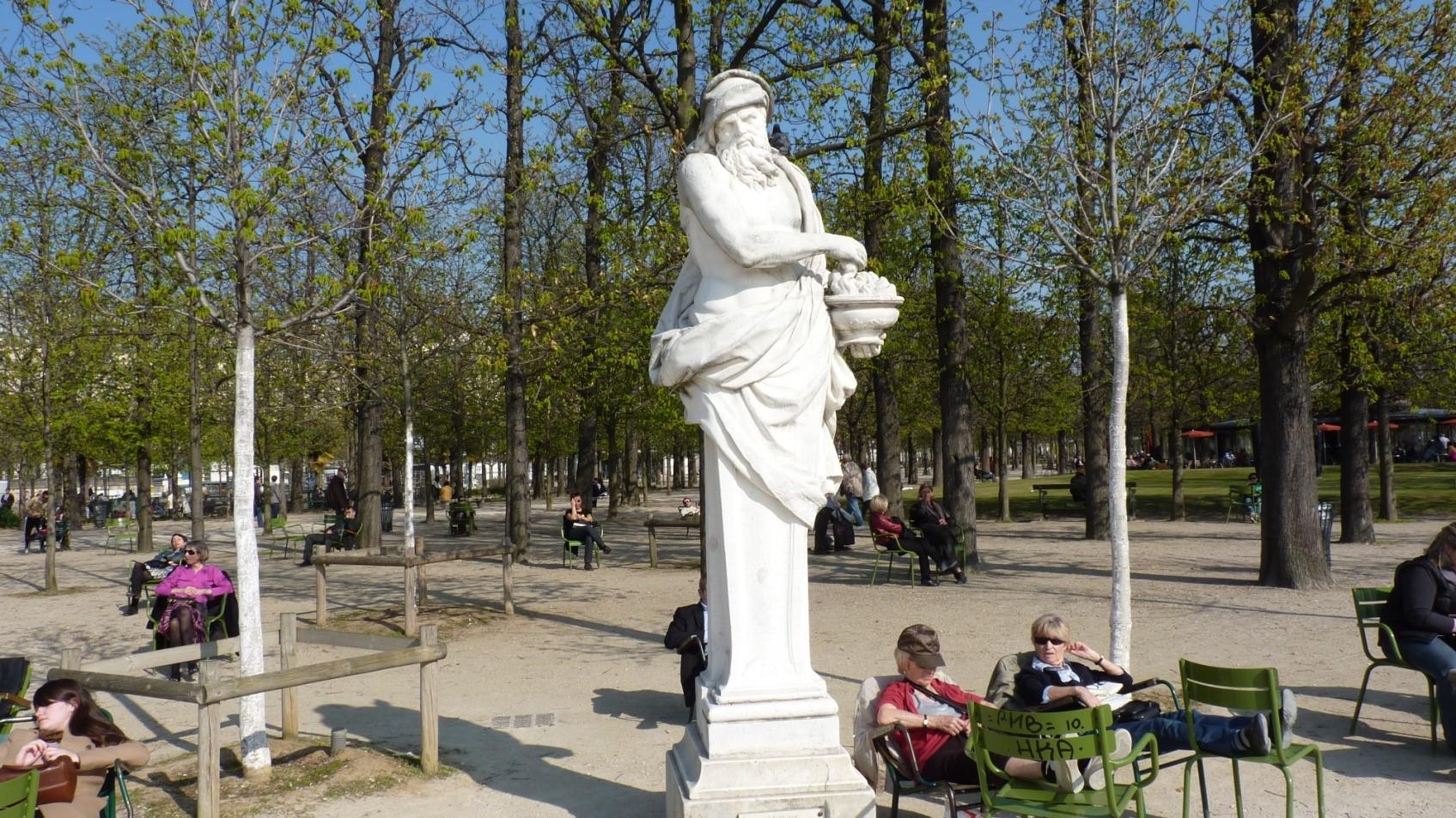 """Résultat de recherche d'images pour """"STATUE DE L'HIVER tuileries"""""""