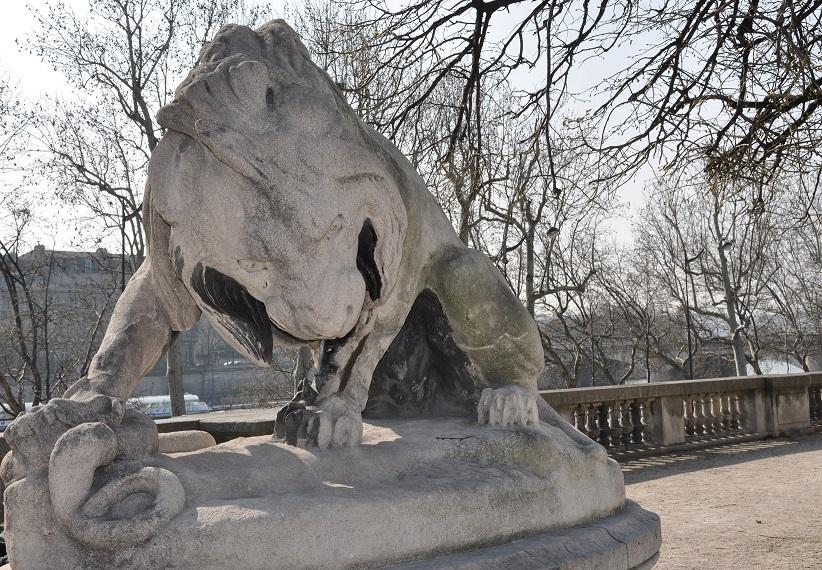 """Résultat de recherche d'images pour """"STATUE """"LE LION AU SERPENT"""" tuileries"""""""
