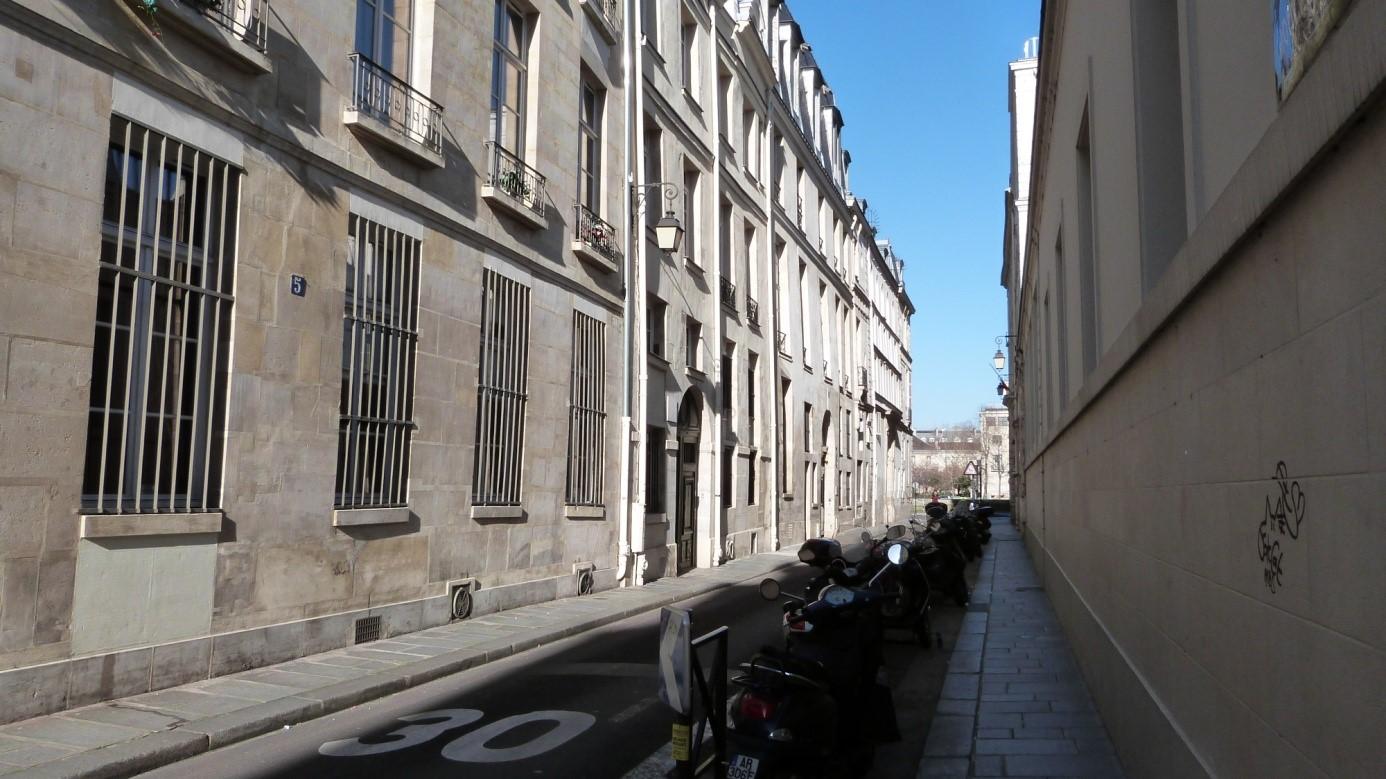 La rue Poulletier