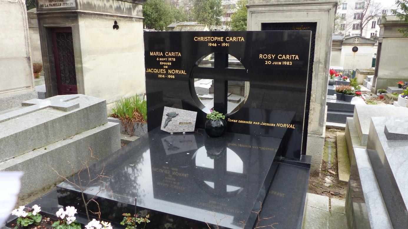 Les tombes du Père Lachaise - Plan de la division 1